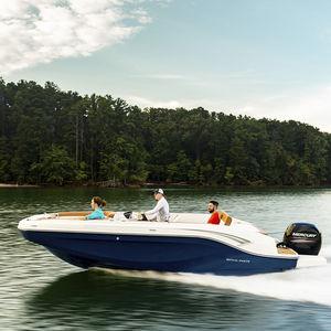 deck-boat fueraborda / de pesca deportiva / de wakeboard / de esquí acuático