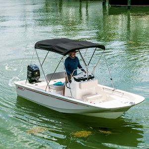 barco open fueraborda / con consola central / de pesca deportiva / 6 personas máx.