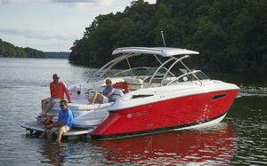 barco cabinado intraborda / híbrido / open / bow-rider