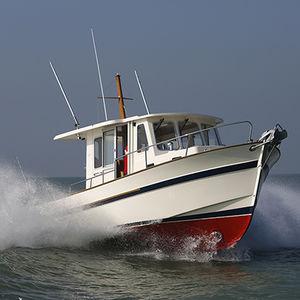 barco de pesca-crucero intraborda / con caseta de timón / 8 personas máx.