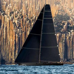 superyate de vela de lujo de regata / con popa abierta