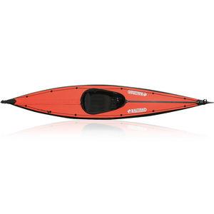 kayak cerrado / plegable / de mar / 1 plaza