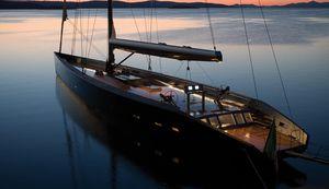 superyate de vela de lujo de crucero / clásico / con popa abierta / con 8 camarotes