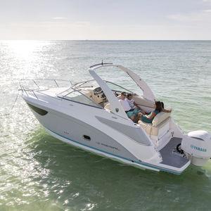 cabin-cruiser fueraborda / open / con doble consola / de deporte