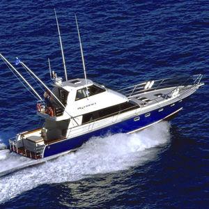 yate a motor de pesca deportiva