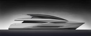 superyate de gran velocidad / con hard-top / de desplazamiento / con 5 camarotes