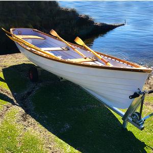barco de remo de recreo / clásico / doble scull