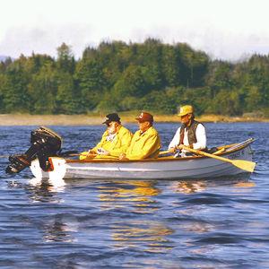 bote de remos de pesca
