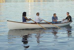 bote de remos de recreo