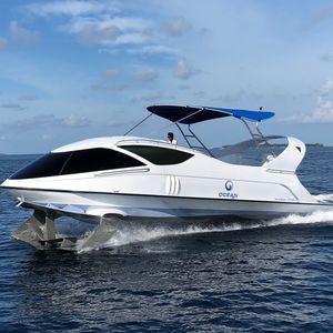 barco profesional barco turístico / barco turístico / barco de visión submarina / intraborda