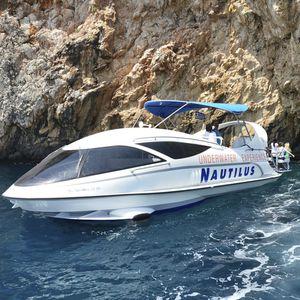 barco profesional barco de pasajeros / barco de visión submarina / intraborda / fueraborda