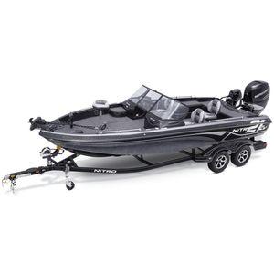 bass boat fueraborda / de alta eficacia / de pesca deportiva / 6 personas máx.