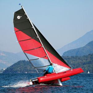 catamarán deportivo hinchable / doble / solitario / trapecio simple