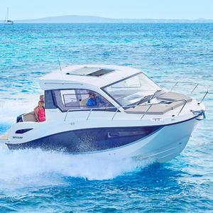 cabin-cruiser fueraborda / con hard-top / 9 personas máx.