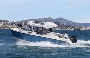 barco de motor de pesca-paseo fueraborda / bimotor / con hard-top / de pesca-paseo