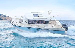 barco de pesca-crucero fueraborda / bimotor