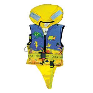 chaleco salvavidas de espuma / 100 N / para niño / con arnés de seguridad