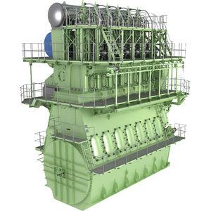 motor para buque de baja velocidad