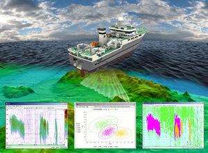 software de pesca profesional / para buque pesquero