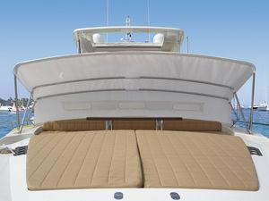 bimini top para barco / para caseta del timón / estructura de acero inoxidable