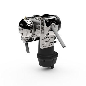 molinete eléctrico / para barco / horizontal / alargamiento automático