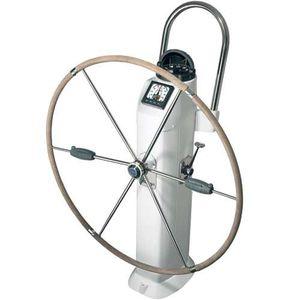 soporte de rueda de timón para velero