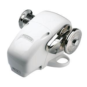 molinete eléctrico / para barco / horizontal / tambor doble