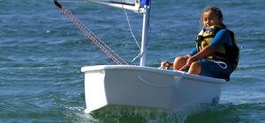 vela ligera solitario / para niños / para escuela / cat boat