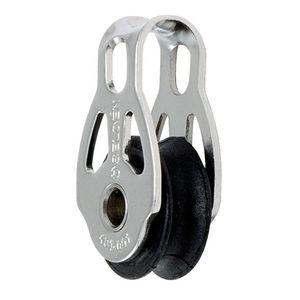 polea con cojinetes lisos / simple / con cabecera fija / Ø máx. cabo: 6 mm