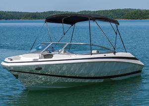 bimini top para barco de motor / para caseta del timón / estructura de aluminio