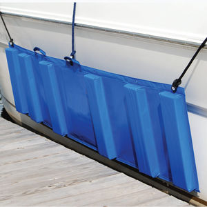 defensa para barco / rectangular / rellena de espuma