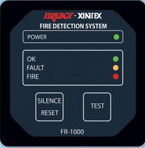 sistema de alarma para barco / de incendio