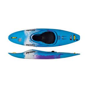 kayak cerrado / rígido / de aguas bravas / 1 plaza