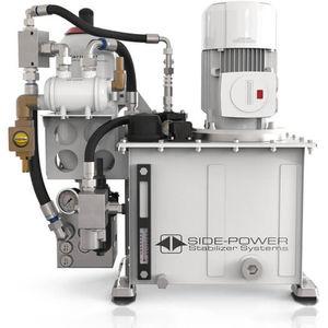unidad de energía hidráulica para barco / para estabilizador / con motor eléctrico