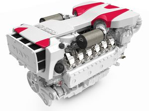 motor intraborda / diésel / recreo / turbo