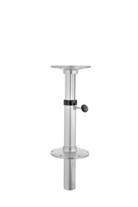 pie de mesa para barco neumático / ajustable / de aluminio