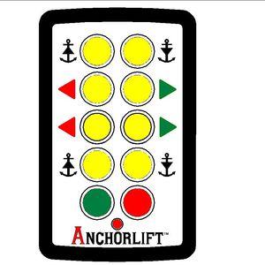telemando radio de molinete / para hélices / para barco