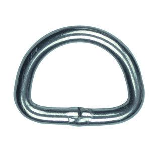 anillo para velero / en forma de D / de metal
