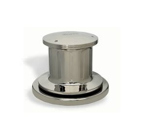 cabrestante para yate / hidráulico / basa de bronce cromado