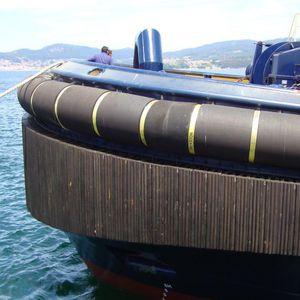 defensa para remolcador / de proa / de popa / de alta capacidad