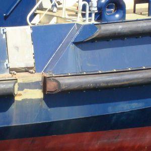 defensa para remolcador / rectangular