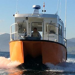 barco profesional barco hidrográfico / intraborda