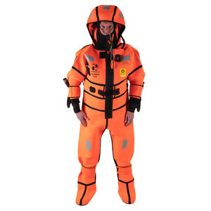 traje impermeable de supervivencia / con capucha / integral / 5 mm