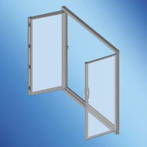 puerta para yate / para barco / con paneles de vidrio / de popa