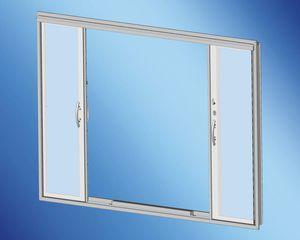 puerta para yate / para barco / corredera / con paneles de vidrio