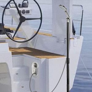 base de candelero para barco