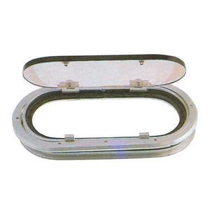 portillo rectangular / para barco / abrible / con cantos redondeados