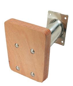 soporte elevador de motor para barco / ajustable / de acero inoxidable