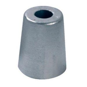 ánodo de protección para barco / de zinc / para eje de hélice