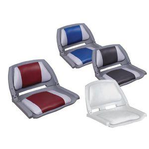 asiento piloto / para barco / abatible / respaldo abatible